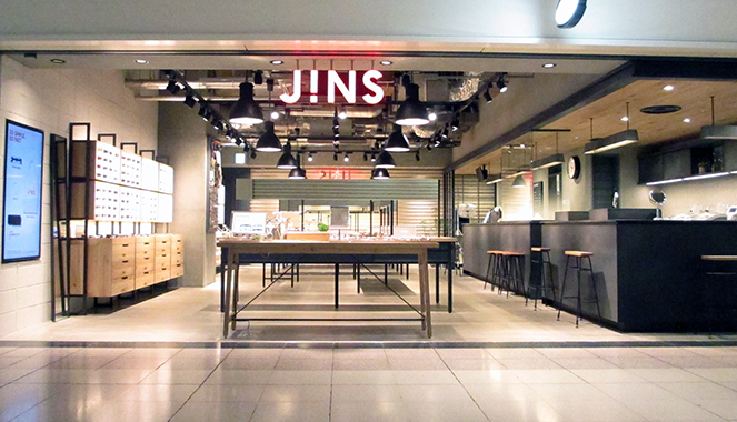 JINS(ジンズ)圧倒的高品質と低価格で大人気のメガネチェーン店