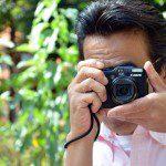 カメラの撮影