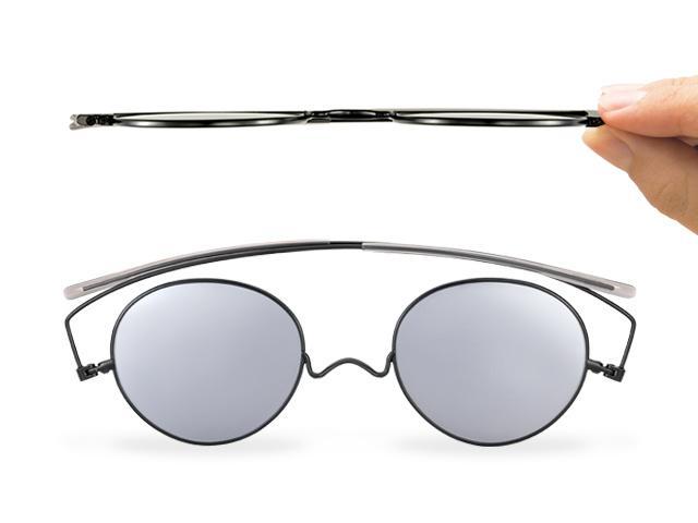 薄く携帯性の良いサングラスが欲しい!鯖江の職人気質が3年かけて発表
